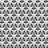 Grey Line Geometric Pattern Images libres de droits
