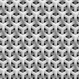 Grey Line Geometric Pattern Royalty Free Stock Images