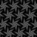 Grey Line Pattern floral Photographie stock libre de droits