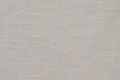 Grey Linen Canvas. Fabric for background Stock Photos