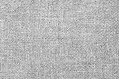 Grey linen fabric texture as background Stock Photos