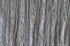 Grey linen textured effect Royalty Free Stock Images