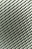 Grey lines of a shutter. A close up to the grey colored lines of a closed shutter Stock Photos