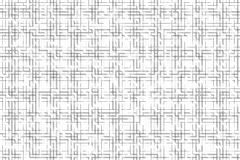 Grey lines on a white background forming cell maze. Stock Photography