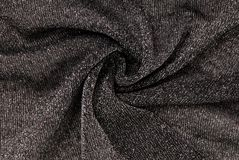 Grey lurex fabric Stock Photography