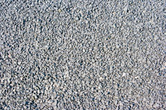 Grey macadam. As texture and background Stock Images