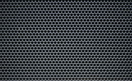 Grey Macro round  Metallic grid net texture Royalty Free Stock Photography