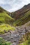 Looking  towards the Grey Mares Tail Royalty Free Stock Image