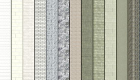 Grey Masonry samples Stock Images