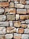 Grey masonry wall texture Royalty Free Stock Photography