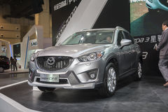 Grey mazda cx-5 car Royalty Free Stock Photos