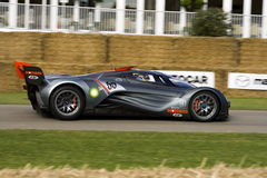 Grey mazda furai concept car Stock Images