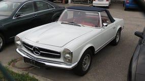Grey Mercedes Benz car Royalty Free Stock Photos