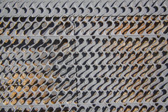 Grey metal background Stock Images