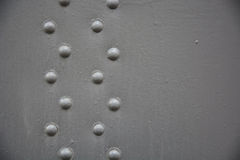 Grey metal background Royalty Free Stock Images
