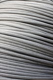 Grey metal cable Royalty Free Stock Photos