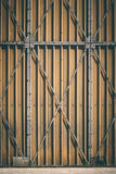 Grey Metal Gate Royalty Free Stock Photography