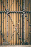 Grey Metal Gate Royalty Free Stock Image
