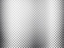 Grey metal grid plate Royalty Free Stock Photos