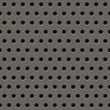 Grey Metal Grill Pattern illustration de vecteur