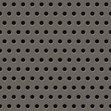 Grey Metal Grill Pattern Royalty Free Stock Images