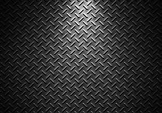 Grey metal sheet texture with directional light Stock Photography