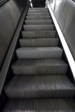 Grey metal stairs Royalty Free Stock Image