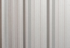 Grey metallic corrugated texture surface,  galvanize steel for background Royalty Free Stock Photo