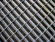 Metallic net texture Royalty Free Stock Photo