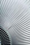 Grey metallic texture. Creating black lines in diagonal Royalty Free Stock Photo