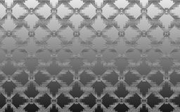 Grey metallic textured abstract background composed of rhombuses pattern Stock Images