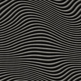 Grey metallic waves. Metallic waves background, will tile seamlessly as a pattern royalty free illustration