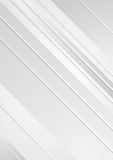 Grey minimal tech striped flyer background Royalty Free Stock Image