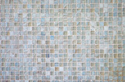 Grey mosaic tiles Stock Photo