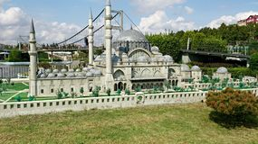 Grey Mosque in Istanbul stockfoto