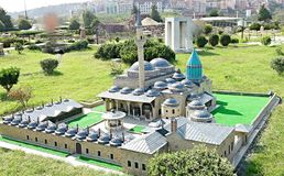 Grey Mosque in Istanbul Royalty Free Stock Images
