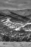 Grey mountain Royalty Free Stock Photography