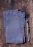 Grey napkin Royalty Free Stock Images