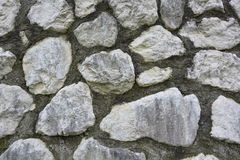 Grey nature stone wall Royalty Free Stock Photography