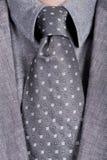 Grey necktie Royalty Free Stock Photo