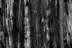 Grey Old Log Cabin Wall-Textuur De donkere Rustieke Muur van het Huislogboek Horizontale Betimmerde Achtergrond Stock Fotografie