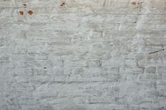 Grey Old Rough Plastered Wall Background Stock Image