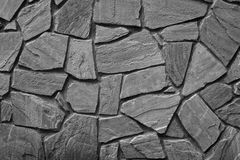 Grey old wall of building Stock Photography