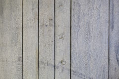 Grey old wooden background. Grey and white old wooden  background, vertical planks Royalty Free Stock Photography