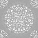 Ornamental Seamless Lace Background Royalty Free Stock Photography