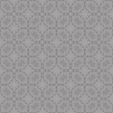Grey Ornamental Seamless Line Pattern Photos libres de droits