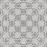 Grey Ornamental Seamless Line Pattern illustration libre de droits