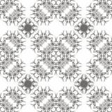 Grey Ornamental Seamless Line Pattern illustration de vecteur