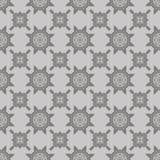 Grey Ornamental Seamless Line Pattern illustration stock
