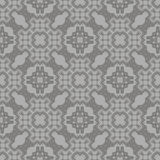 Grey Ornamental Seamless Line Pattern Images stock